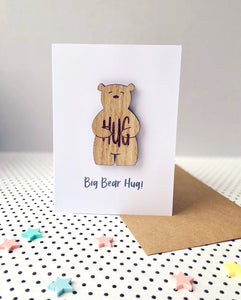 Big Bear Hug! Card