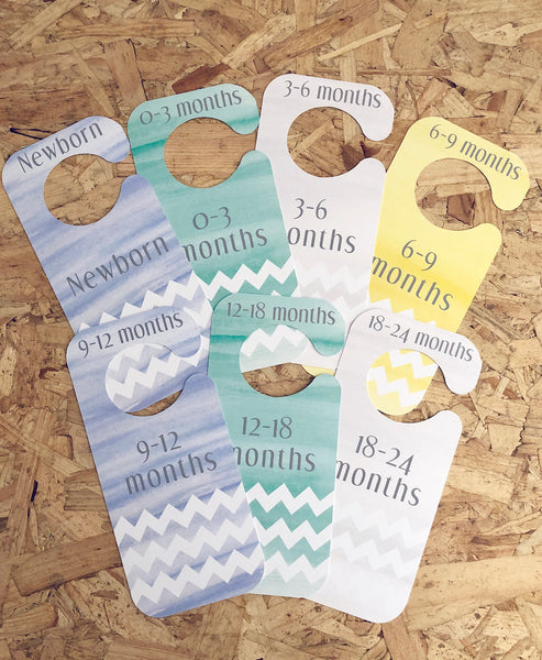 Baby wardrobe dividers 0-2 years old