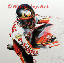Load image into Gallery viewer, Barry Sheene / Suzuki RG500 Limited Edition Print