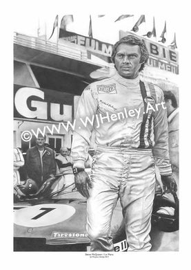 Steve McQueen / Le Mans - Limited Edition Giclee Print