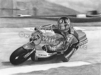 Barry Sheene WJHENLEY.ART