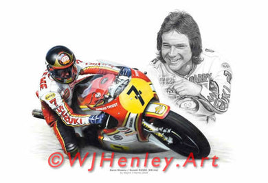 Barry Sheene / Suzuki RG500 Limited Edition Print