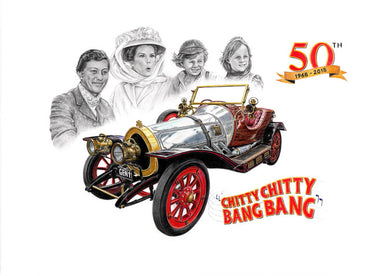 Chitty Chitty Bang Bang 50th Anniversary Limited Edition Print