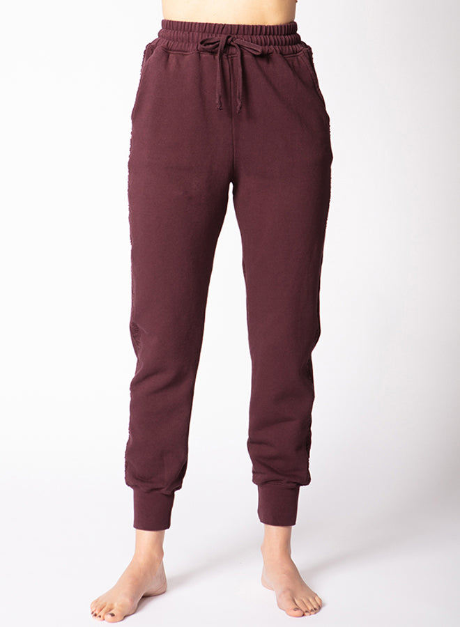 Boucle Terry Side Insert Jogger