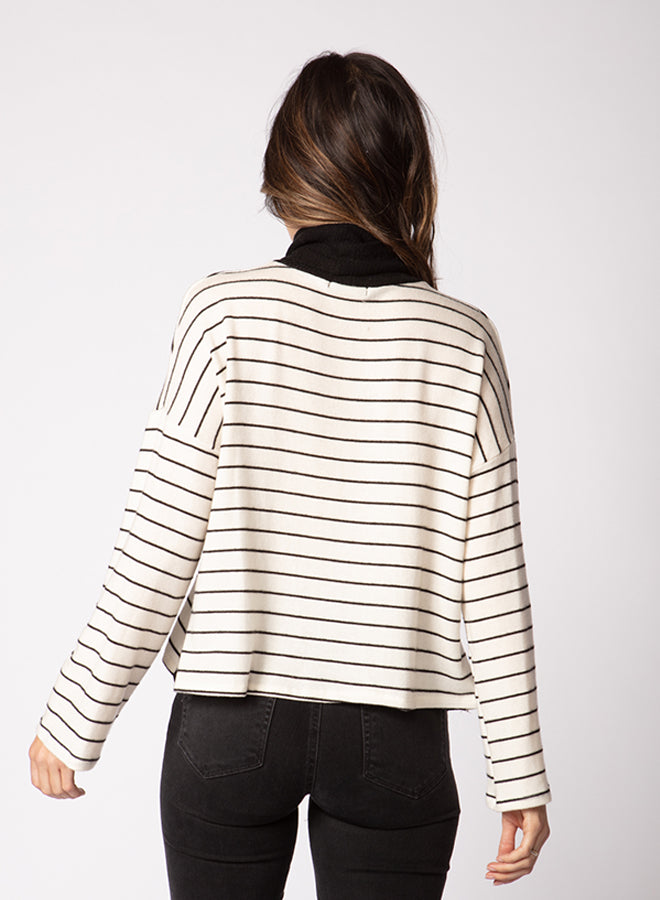 Side Snap Sweater