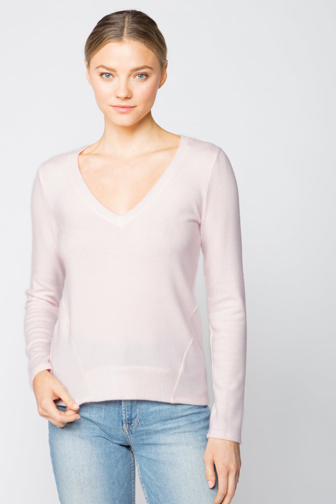 V-Neck Sweater Top