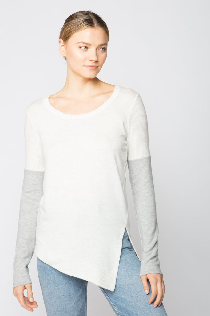 Asym Sweater Top