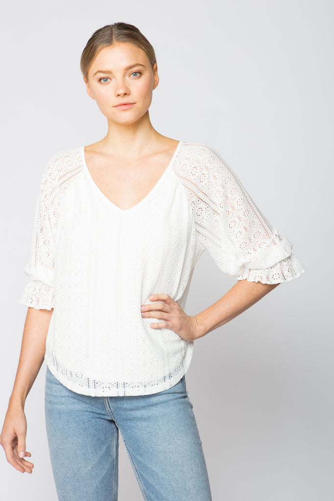 Billow Sleeve Top