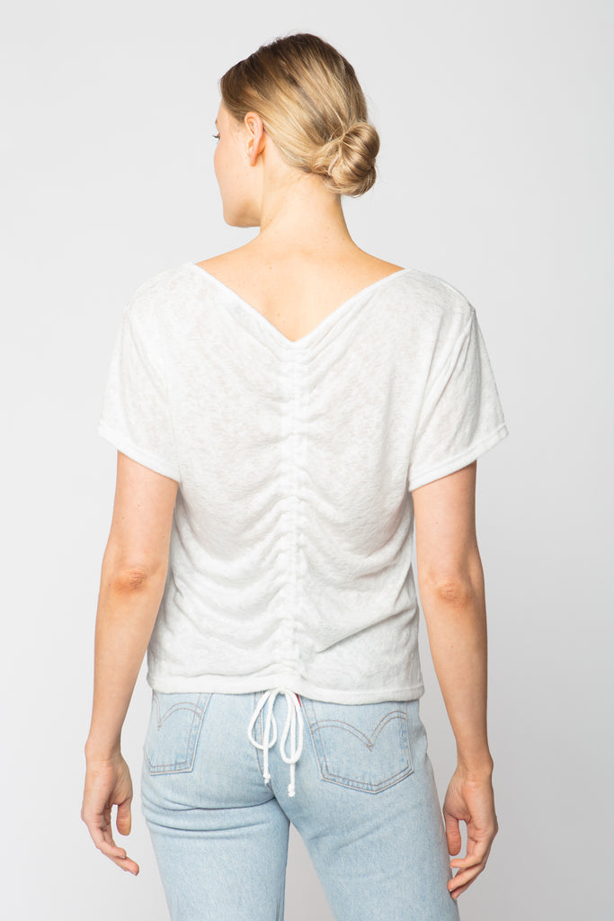 Scrunch Back Tee