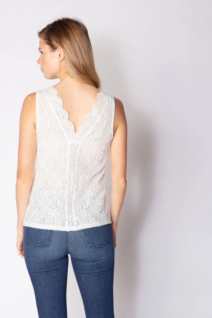 Scallop Neck Tank