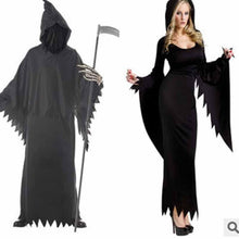 Load image into Gallery viewer, Halloween Plain Night Wandering Soul Female Ghost Couple Suit