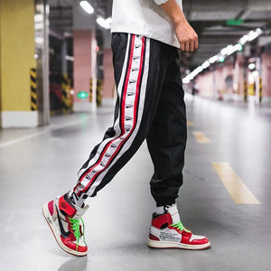 Street Hiphop Beamed String Casual Pants
