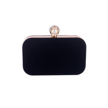 Load image into Gallery viewer, Pearl Basic Diamante Evening Clutch Bag