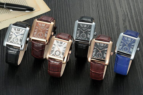 Classic Design Rectangular Mens Watches