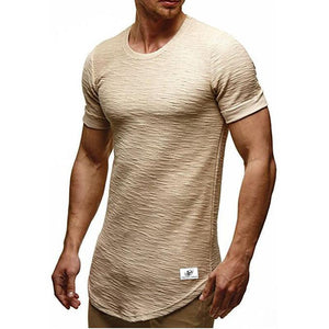 Men's Fashion Basic Cotton T-Shirt