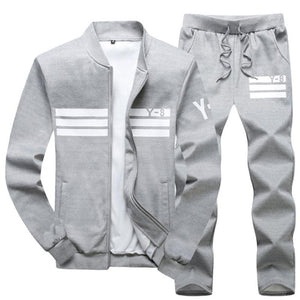 Men Plus Size Casual Sport Suit 4 Colors