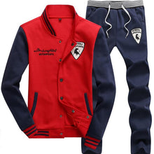 Load image into Gallery viewer, Autumn Winter Men's Sports Suit 4 Colors