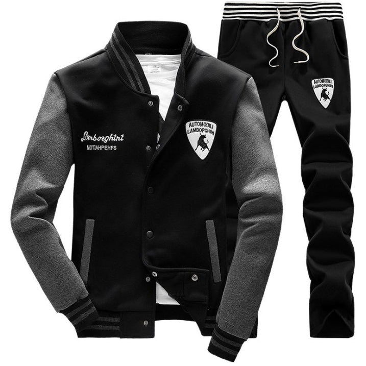 Autumn Winter Men's Sports Suit 4 Colors