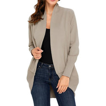 Load image into Gallery viewer, Long Sleeve Casual Knit Cardigan