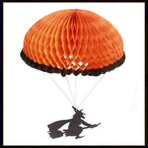 Halloween Ktv Supermarket Witch Parachute Decoration Pendant