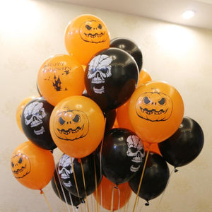 Halloween Pumpkin Decoration Rubber Wholesale Balloon