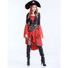 Load image into Gallery viewer, Halloween  Pirates Of The Caribbean Cosplay Show Suit