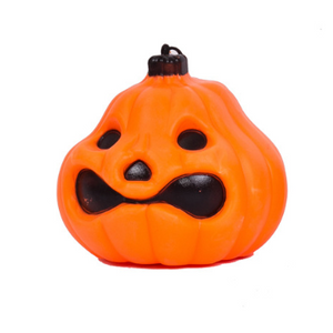 Halloween Decorated  Haunted Houses Double-Sided Pumpkin  Lights