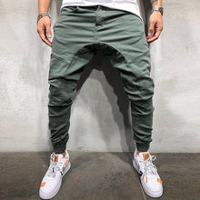 Load image into Gallery viewer, Fashion Mens Solid Color Loose Pants