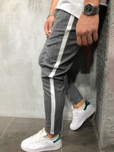 Load image into Gallery viewer, Fashion Stripe Color Blocking Slim Pencil Pants
