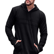 Load image into Gallery viewer, Fashion Casual Sport Loose Solid Color Long Sleeve Men Hoodie