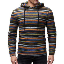 Load image into Gallery viewer, Fashion Casual Loose Strip Men Sport Hoodie