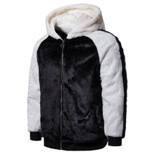 Load image into Gallery viewer, Winter Keep Warm Color Blocking Plain Zipper Coat