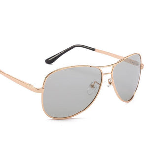 Vintage Plain Cool Metal Frames Sunglasses