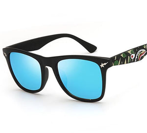 Fashion Casual Unisex Daily Print Frame Sun Glasses