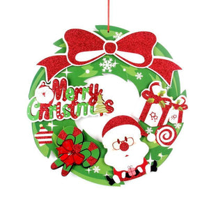 Christmas Supermarket Hotel  Decorated Stickers