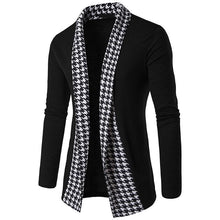 Load image into Gallery viewer, Fashion Loose Split Joint Plain Knit Cardigan