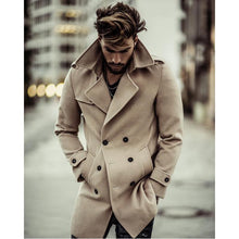 Load image into Gallery viewer, Business Fashion Slim Solid Color Button Lapel Long Sleeve Suit Men Outerwear