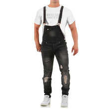Load image into Gallery viewer, Denim Overalls Sling Pants 3 Colours