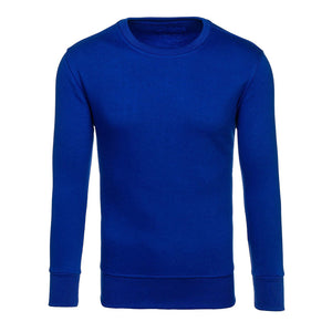 Casual Plain Style Men's Long Sleeve T-Shirts