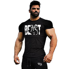 Load image into Gallery viewer, Fitness Sports T-Shirt Cotton   Top Short Sleeve