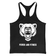 Load image into Gallery viewer, Men's Bodybuilding Word Vest   Camisole