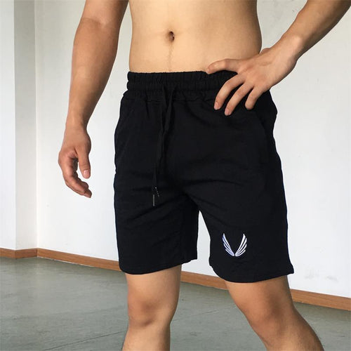 Fitness Cotton Shorts