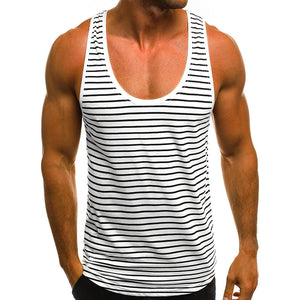 Men's Casual Striped Vest