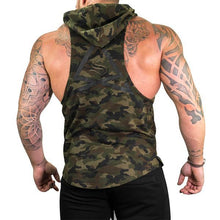 Load image into Gallery viewer, Fitness Fashion Camouflage Hoodie