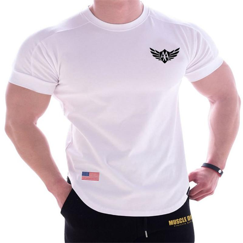 Printed Quick-Drying Men's Short Sleeve T-Shirt