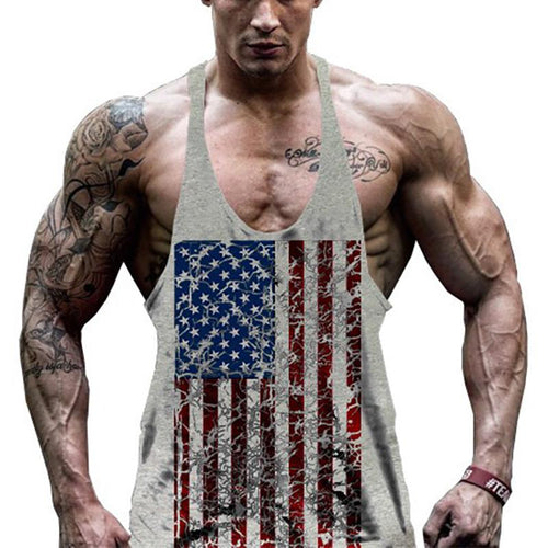 Men's Cotton Fitness Loose Sports Vest