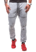Load image into Gallery viewer, Shredded Double Pocket Design Men's Sports Pants