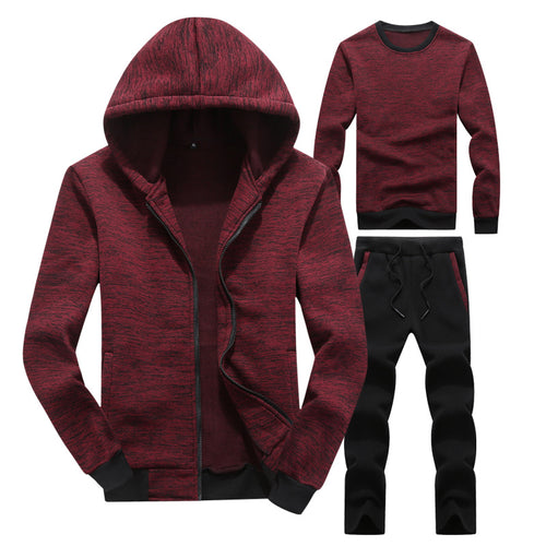 Autumn And Winter Sports And Leisure Trend Mens Set