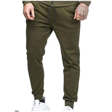 Load image into Gallery viewer, Solid Color Slim Sweatpants Cotton Casual Fitness Trousers