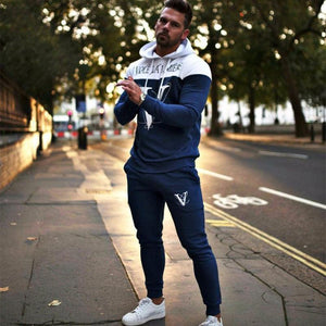 Autumn Winter Men Sportswear Suits